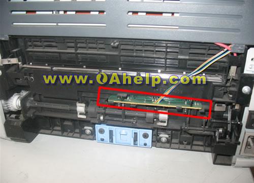 下图:hp1010打印机位置图   &nbsp